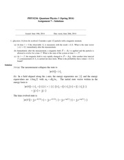 Assignment7-234-S14-solutions