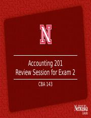 Exam 2 Mentor Led Review S17Updated (1)