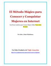 Conocer Mujeres Online