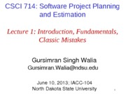 Lecture 1 - Introduction, Fundamentals, and Common Mistakes