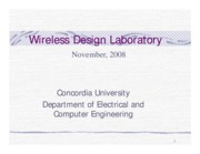 Wireless Design Lab