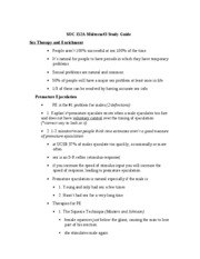 Soc 152A Midterm#3 Study Guide