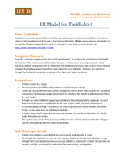 Assignment # 1 - TaskRabbit - ER Model