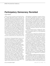 WK03_Pateman_Participatory Democracy Revisited