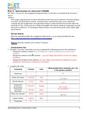 virtual activity molarity answer key