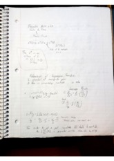 Lagrangian Formalization notes