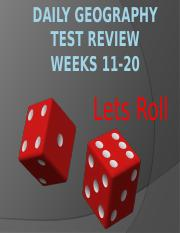 Daily Geography Test Review weeks 11-20.pptx