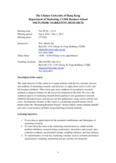 MKTG3010B course outline_Fall 2015