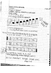 Music Concepts, Jazz Combo Notes