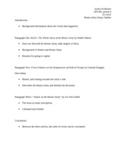 long essay outline apush Compare and constrast chart available here(cannot copy and paste) - general outline for compare - contrast essays the 8-9 essay contains a clear.