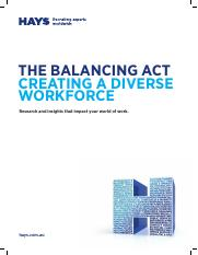 TTE BA BSBDIV501 Resource Hays The Balance Act Creating a Diverse Workforce.pdf