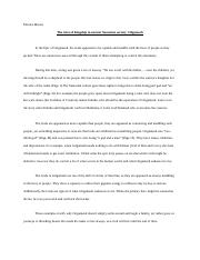 His  Unit  Wikipedia Analysis Paper  For This Assignment I   Pages His  Gilgamesh Paper Assignmentmonica Munoz What Is A Thesis Statement In An Essay Examples also Good Health Essay  Research Proposal Essay Example