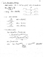 PHYS 1650 Bandpass Fillering Notes
