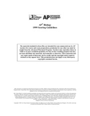 ap biology essay answers 2002 Course materials, exam information, and professional development opportunities for ap teachers and coordinators.