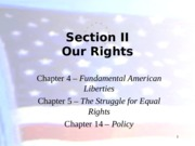 Ch. 4 Lecture - Fundamental American Liberties - Outline Part I(1)