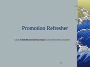 Promotion Refresher
