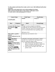 Clinical Makeup 1 Medication Cards - Kenneth Bronson.docx