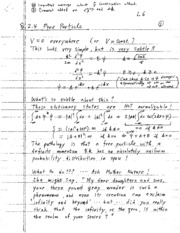 Lecture note6 - Free Particle