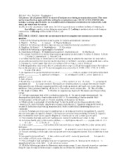 microbiology fall 2011 exam 1 and 2