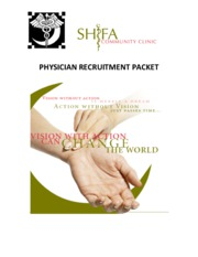 Physician Recruitment Packet
