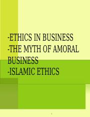 5-Business&Islamic Ethics.ppt
