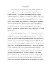 Essay on persepolis