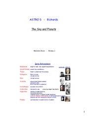 AST005 Exam 2 review