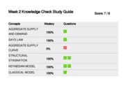 week 3 knowledge check study guide Week 3 knowledge check 6/7score: concepts mastery questions monopoly 100% 1 oligopoloy 0% 2 profit maximization 100% 3 4 market structure 100% 5 6 7 monopolyconcept.