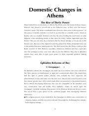 6-Domestic changes in Athens