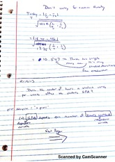 Simple Regression notes
