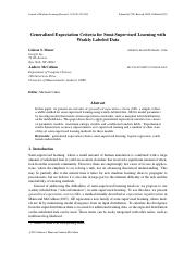 Generalized Expectation Criteria for Semi-Supervised Learning with Weakly Labeled Data