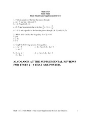 Math1313-FinalExamReview-additional-key-S10