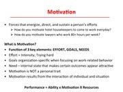 Chapter 10 Motivation Theory