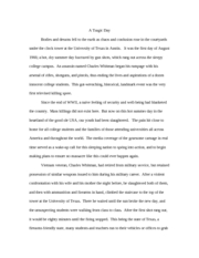 Final English Paper #2