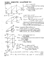 CE 382 HW#3 Solutions