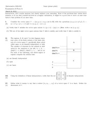 Exam C on Linear Algebra
