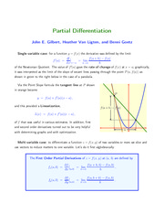 24-Partial Differentiation