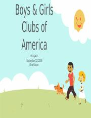 Boys & Girls Club Of America (1)
