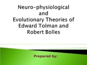 Neuro+physiological+and+Evolutionary+Theories