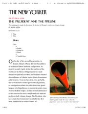 Ryan Lizza How the Keystone XL Pipeline Tests the Administr (1)