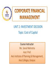 UNIT 2- COST OF CAPITAL PPT.pdf