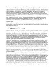 The Draft ISO26000 guidelines define CSR as.docx