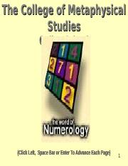 The World of Numerology (1).pps