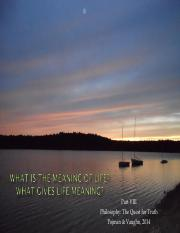 What is the meaning of Life_Part VIII