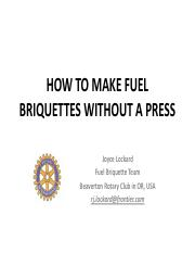 HOW TO MAKE FUEL BRIQUETTES WITHOUT A PRESS.pdf