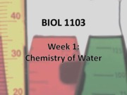 Week 01 Chem of water colour