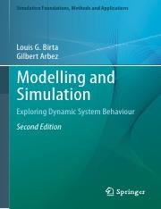 Modelling and Simulation - Exploring Dynamic System Behaviour 2nd ed (Simulation Foundations, Method
