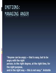 Emotions and Anger Managment lecture-3.ppt
