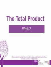 1774_737_Week 2- The Total Product.pptx