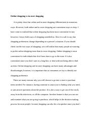 online shoping vs in-store shoping.docx